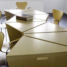 Mesa Octavo / IMAKE Studio,Cortesia de IMAKE Studio #vemqueagentefaz #moveissobmedida #moveisplanejados www.marcenariamodernarj.com.br