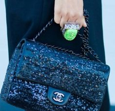 Sequined Chanel 2.55
