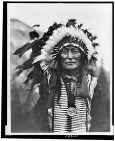 Walter Iron Shell, Lakota Sioux, by F.W. Glasier, 1908