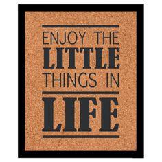 Enjoy the little things in life. Esto estará algún día en la puerta de mi casa :)