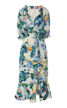 Get inspired and discover Saloni trunkshow! Shop the latest Saloni collection at Moda Operandi. Beautiful Dresses, Nice Dresses, Casual Dresses, Fashion Dresses, Women's Dresses, Look Fashion, Daily Fashion, Runway Fashion, Silk Midi Dress