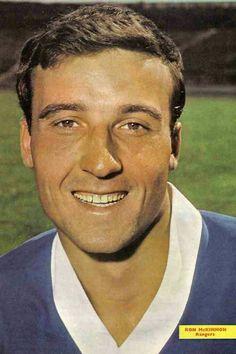 Ron McKinnon of Rangers in 1967.