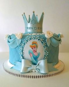 Disney Princess Birthday Cakes, 4th Birthday Cakes, Frozen Birthday Cake, Elsa Cakes, Beautiful Birthday Cakes, Girl Cakes, Themed Cakes, Party Cakes, Cake Designs