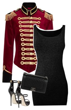 """""""Hosana of the 24 and ½ century"""" by hosana-tsarnaev ❤ liked on Polyvore featuring Pinky Laing and Chanel"""