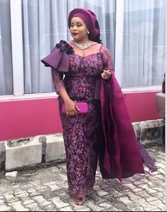 Latest Asoebi styles - 2020 Aso Ebi Lace Styles: 20 Trendy Designs for Parties. Aso ebi styles are one of those fashion trends that will always remain releva. Nigerian Lace Dress, Nigerian Dress Styles, Ankara Gown Styles, Nigerian Fashion, Ghanaian Fashion, Lace Gown Styles, Aso Ebi Lace Styles, African Lace Styles, Lace Dresses