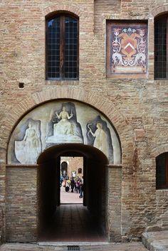 San Gimignano  Detail  - Tuscany  Italy