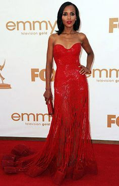 Kerry Washington in Zuhair Murad