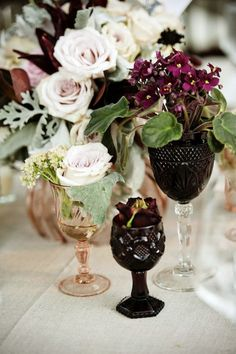Adorable Boho Chic Wedding Centerpieces | www.MadamPaloozaEmporium.com www.facebook.com/MadamPalooza