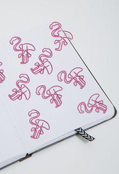 NPW Flamingo Paper Clips | FOREVER21 | #f21brandedshop