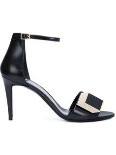 Pierre Hardy 'Dé D'or' sandals - Black farfetch neri En El Precio Barato De Italia Comprar Barato Auténtica Barato Asequible Lugares Baratos Venta De Salida Precios De Descuento sqorJy
