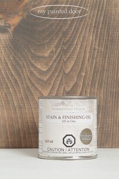 New! Homestead House Stain and Finishing Oil has arrived — My Painted Door