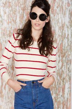 Vintage Bernadette Cashmere Sweater