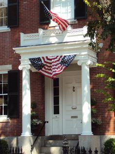 #flag front #door #celebrate #independence