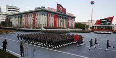 Corée du Nord: l'imposante parade militaire en images