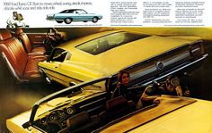 Curbside Classic: 1969 Ford Torino GT – The Intermediate Sports Intermediate Car Brochure, Ford Torino, Candy Apple Red, Car Advertising, Brochures, American, Classic, Plum, Sports
