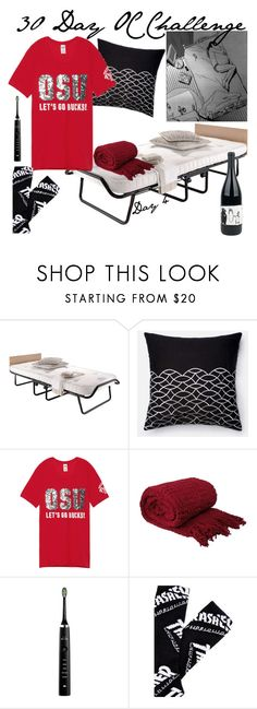"""Day 4"" by stream5 ❤ liked on Polyvore featuring Philips Sonicare and HUF"