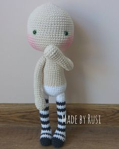 ❤ Enjoy the weekend #crochet #crochetdoll #amigurumi #amigurumidoll #madebyrusi # rusidolls