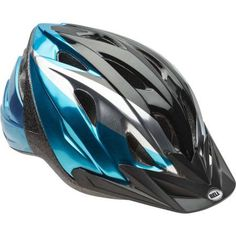 Bell Sports Rival Blue Journey Child Helmet, Blue Black