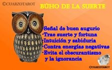 Búho de la suerte https://www.cuarzotarot.es/blog/posts/buho-de-la-suerte #FelizMartes #Suerte #Talisman #Amuleto #VidaSana