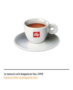 Marchio Illy - La tazzina di caffè disegnata da Thun 1999