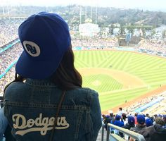 """THINK BLUE: We out here! Reppin that FY snapback """"The Ravine"""" Dodgers color way at the game. ---------------------------------------------------- #thefreshyard #freshyard #fy #fyworldwide #fybrand #bayarearaised #sandiegoborn #stayfresh #symbolofexcellence #shopnorthpark #30block #northpark #ladodgers #dodgers #theravine #losangeles #losdoyers by thefreshyard"""