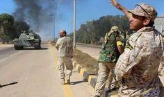 القوات الموالية لحكومة الوفاق الوطني في ليبيا…: قتل فجر السبت 4 مدنيين على الأقل، وإصيب 14 آخرين في انفجار سيارة مفخخة وقع أمام أحد مداخل…