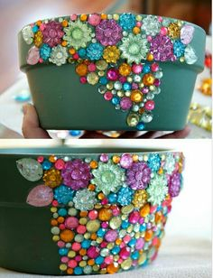 How To Make A Flower Pot From Waste Material Diy Recycle Reuse