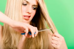 Treatment help for split ends...mix honey, egg, olive oil for 30 minutes then shampoo!