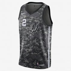 Nike NBA San Antonio Spurs Kawhi Leonard City Edition Swingman Jersey