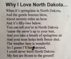 North Dakota humor