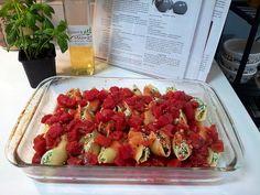 Vegan Stuffed Shells  Recipe on my blog http://vegangypsy.blogspot.com