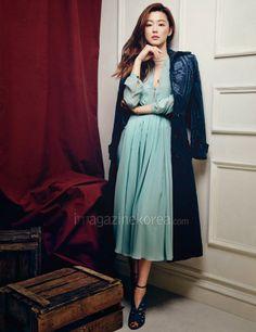 Jeon Ji Hyun - Harper's Bazaar April 2014 | Beautiful Korean Artists