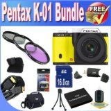 Get Low cost Pentax K-01 16MP APS-C CMOS Compact Method Digital camera With 40mm Lens (Yellow) + Extended Life Battery + 16GB SDHC Class 10 Memory Card + USB Card Reader + Memory Card Wallet + Deluxe Case w/Strap + Shock Evidence Deluxe Situation + Mini HDMI to HDMI Cable + 3 Piece Specialist Filter Kit + Accessory Saver Bundle! Sale - http://buyingmanual.com/get-low-cost-pentax-k-01-16mp-aps-c-cmos-compact-method-digital-camera-with-40mm-lens-yellow-extended-life-battery-16g
