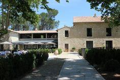 Vue sur le bar - Les Baux de Provence - Domaine de Manville