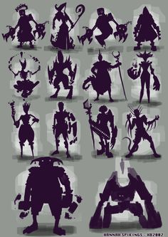 Silhouette Examples  ★ || CHARACTER DESIGN REFERENCES™ (https://www.facebook.com/CharacterDesignReferences & https://www.pinterest.com/characterdesigh) • Love Character Design? Join the #CDChallenge (link→ https://www.facebook.com/groups/CharacterDesignChallenge) Share your unique vision of a theme, promote your art in a community of over 50.000 artists! || ★
