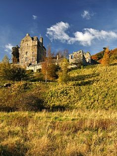 Neidpath castle Scotland