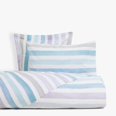 Lilac duvet cover with watercolour stripes - DUVET COVERS - BEDROOM | Zara Home Panamá