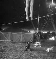 From a story on the Ringling Bros. Circus in the April 4, 1949, issue of LIFE. The caption for this picture:
