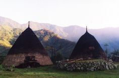 Wae rebo, is one of hidden village in Indonesia, only a hundred ever went there. The tribe live in seven giant house and they never build or add the new house over a hundred years.