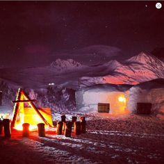 Nuit en igloo pour 2 avec dîner et petit déj' en Savoie - Cadeaux sur…