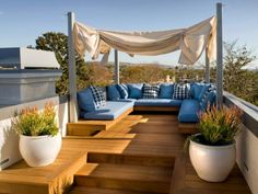 A patio is just one element of a garden design, but it is one of the most expensive parts of … design small 49 Pretty Small Terrace Design Ideas - LUVLYDECORA Rooftop Terrace Design, Small Terrace, Rooftop Patio, Patio Roof, Pergola Patio, Small Patio, Pergola Kits, Terrace Ideas, Pergola Ideas