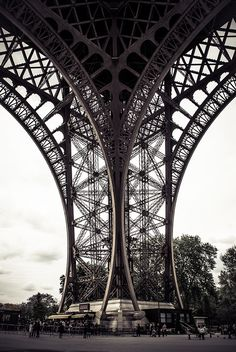 the Eiffel Tower; proof that there are still creative ways to photograph famous things everyone's seen before