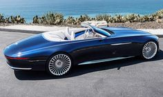 Vision Mercedes-Maybach 6 Cabrio (2017)