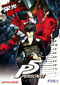 Persona 5- The Protagonist and Arsene. I'm so excited for this game!