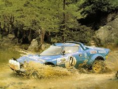 The magnificent,unique and very successful Lancia Stratos, born as auto show concept car, by late conquered the rally world. Monte Carlo, Le Mans, Maserati, Mopar, Sport Cars, Race Cars, Motor Sport, F1 Posters, Rallye Automobile