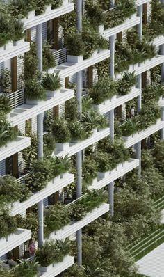 Magic Breeze Sky Villas | Penda - Arch2O.com