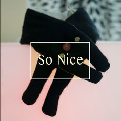 MouMou Scarf- Black by SoNice on Etsy