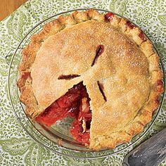MyRecipes recommends that you make this Apple-Raspberry Pie recipe from All You