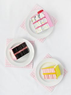 Upcycle cardboard and bubble wrap to make these adorable cake slices! by Handmade Charlotte Recycled Crafts Kids, Fun Diy Crafts, Crafts For Kids, Cardboard Play, Cardboard Crafts, Paper Crafts, Diy Projects For Men, Diy Craft Projects, Painting For Kids