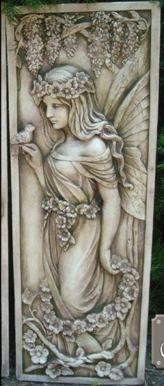 Fairy Plaque Large